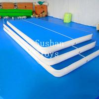 Freies Verschiffen 6m lang, 2m Breite, 20cm Stärke aufblasbare Luftkissenbahn-Gymnastik aufblasbare Luftkissenbahn-taumelnde Matten-Turnhalle AirTrack für Verkauf