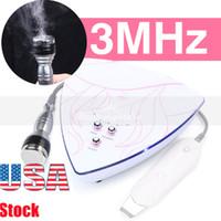 Ev Kullanımı için İçme 3Mhz Ultrason Cilt Scrubber Ultrasonik Cilt Temizleyici Spatula Soyma Makinesi Yüz Derin Temizleyici