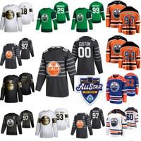 2020 Edmonton Outlers Hockey Jerseys Golden Edition Womens 63 Tyler Ennis 28 Andreas Athanasiou 27 Mike Green Gaetan Haas Zack Kassian Custom
