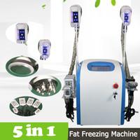 5 in 1 macchina di congelamento grassa di cryolipolysis di cavitazione di perdita di peso macchina di cryolipolysis di criolipolisi che dimagrisce la macchina di bellezza