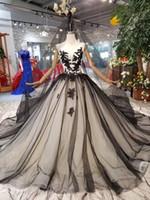 Викторианское готическое винтажное свадебное платье черное и обнаженное бальное платье лесные свадебные платья 2020 не белый свадебное платье на заказ с бисером кружева