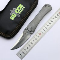 Lâmina de aço espinho verde SBSF M390 Nudist TC4 punho Titanium acampamento ao ar livre caça bolso frutas faca dobrável EDC utilitário ferramenta