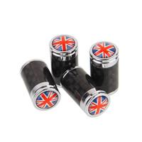 Valvole tappo copri valvola pneumatico in fibra di carbonio Sline Set copertone parapolvere per pneumatici MT Badge distintivi dell'emblema