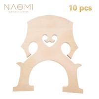Наоми 10 шт. виолончель мост 4/4 виолончель мост тонкой возрасте кленового дерева французский стиль для виолончели струнные Скрипка части аксессуары новый