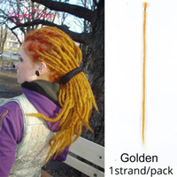 dread hair extensions 20inch Soft Dreadlocks Crochet Braids ...