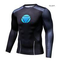 Онлайн футболки для мужчин Спортивные футболки с длинным рукавом Хорошее качество Интернет-распродажа Новый стиль 14 Дешевые