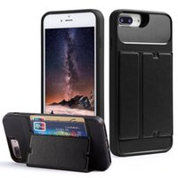Hand free Flip Leather Case for iPhone 6 Plus 6s 7 8 X XR Xs...