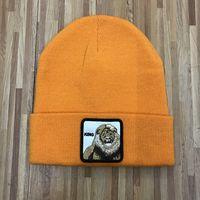 Berretti invernali unisex da uomo moda cappello lavorato a maglia sport cranio berretti casuali esterni del fumetto animale ricamo berretti cappelli 40 colori ZZA843