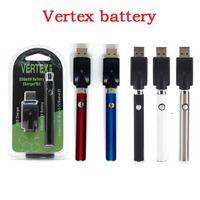 El precalentamiento de la batería Blister Kit LEY 350/650 / 00mah V-Vape Vertex Precalentar Vape Pen 5 0 Thread USB individual del paquete de ampolla Vape batería 2