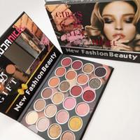 Toprak Renkler Göz Farı Paleti 24 Renkler Kız Serisi Göz Farı Makyaj Pırıltılı Mat Göz Farı Uzun Ömürlü Kozmetik
