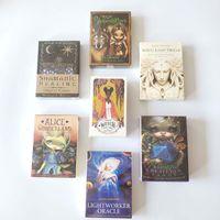 Tarot Cartões Oracle Orientação Divinate Divinate Tarot Deck Jogos Inglês para Família Presente Partido Jogando Game Entertainment