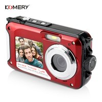 KOMERY Original Dual- screen Digital Waterproof Camera Camcor...