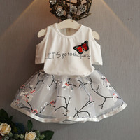 good quality summer baby girls clothing set girls summer clo...