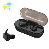 TWS S4 블루투스는 스마트 폰 귀에 헤드폰 스테레오 블루투스 5.0 터치 컨트롤을 이어폰 핸즈프리 무선 이어폰을 헤드셋