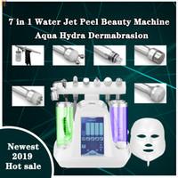 2019 En Yeni hydrofacial hidro mikrodermabrazyon dermabrazyon makinesi oksijen cilt gençleştirme BIO yüz germe güzellik salonu ekipmanları