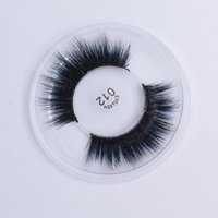 27 Stiller Yanlış Eyelashes 3D Vizon Kirpikleri 3D İpek Proteini Kirpikler Yumuşak Doğal Kalın Sahte Kirpikleri Göz Lashes Uzatma DHL