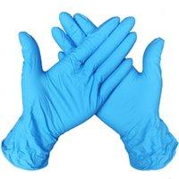 Monouso di protezione in nitrile guanti di lattice alimentari Guanti universale della casa Giardino di pulizia Guanti alimentari Gestione Cucina Accessori LJJA4042