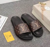 Fashion Designer Slippers New Brand Letters Desinger Slides ...