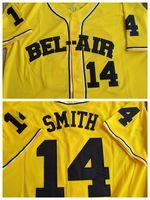 Özel Taze Prens Smith Carlton Banks Bel-Academy Beyzbol Jersey Dikişi Herhangi Bir Adı ve Numarayı Dikmek