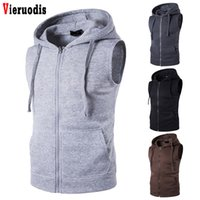 Autumn Spring Hoodies Cardigans Jacket Fit Slim Jacket Men&#...