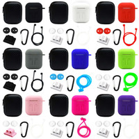 5 in 1 Storage Box Earphone Bag For AirPods Case Earbuds Hea...