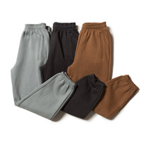 2020 West New Season 6 Solid Casual Color de los hombres de algodón 100 High Street pantalón Joggers Streetwear Hombres Pantalones