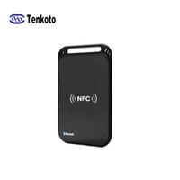 Tenkoto Bluetooth NFC-Kartenleser Wireless-Android-Smartphone RFID Kontaktlose Karten lesen