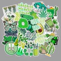 VSCO Girl Green Umweltschutz Aufkleber Koffer Wasserdichte Aufkleber