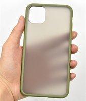 Chiaro A prova d'urto Contrasto caso del telefono a colori per Samsung Galaxy J8 Telaio 2018 J7 libera opaca cassa molle del silicone cassa dura del PC