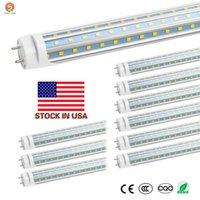 25-Pack T8 LED Ampuller 4 Ayak, 6000K Günışığı 4ft LED Tüp ABD'de 60 watt Floresan Değiştirme Çift Bitiş Güç + Hisse Senedi Işıklar