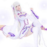 Re Life in einer anderen Welt von Zero Emilia Outfit Dress Cosplay