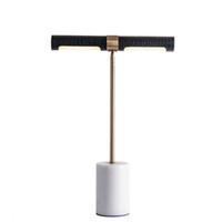 Минималистский винтажный утюг со светодиодной тумбочкой, боковой настольный светильник для спальни, гостиной, мансарды, персональный рабочий стол, арт-деко