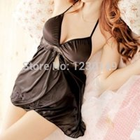 섹시한 나이트 가운 베이비 돌 잠옷 신부 레이스 잠옷 밤 드레스 속옷 광고