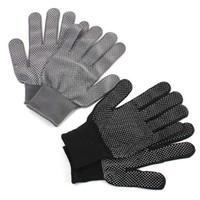 1 paire coiffure de gant de protection résistant à la chaleur pour curling droit plat de fer plat Gants de sécurité Gants de sécurité Haute Qualité Anti-C