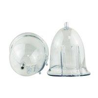 진공 치료 기계 유방 흡입 기계 액세서리, 유방 확대 흡입 컵 장비에 대한 1 쌍 유방 컵