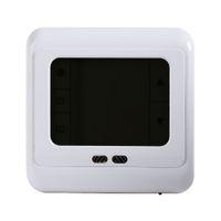 Freeshipping programmeerbare thermostaat kamer ondervloer verwarmingssysteem temperatuurregelaar LCD touchscreen met witte blauwe groene achtergrondverlichting