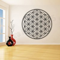 Vinyl Sticker Decal Mandala Of Life Stickers for Living Room...