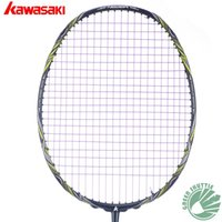 2017 Five Star 100% Originale Kawasaki Top Quality Badminton Racchetta Forza professionale in fibra di carbonio Raquette Badminton