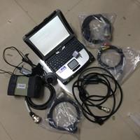 MB STAR C3 Multiplexer Laptop Strumento di diagnosi del computer portatile con software 160 GB HDD Xentry DAS CF19 Touch Screen ToubleBook Tutti i cavi Set completo pronto per il lavoro