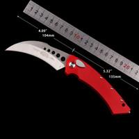 Mikro teknoloji 166-10 Hawk OTO Katlama Bıçak düğme otomatik Taktik bıçak EDC Noel hediyesi UTX cebinde bıçak erkek çocuk doğum günü hediyesi