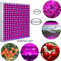 실내 성장 조명 블루 레드 LED 45W 식물 성장 수경법 온실