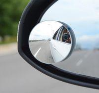 자동차 둥근 볼록한 블라인드 스팟 미러 360도 자동차 미러 와이드 앵글 라운드 볼록한 블라인드 자동 백미러 KKA6730