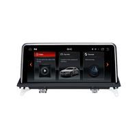"10.25 ""6 Core PX6 Android 9.0 4G + 64G Car DVD راديو ستيريو لاعب ل BMW E70 X6 E71 2011-2013"