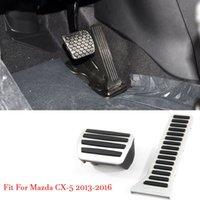 سيارة سبيكة مسرع الغاز الفرامل مسند دواسة لوحة الغلاف لوحة يصلح لمازدا CX-5 2013-2016