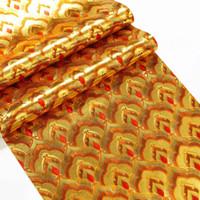 Folha de ouro de luxo wallpaper Buddha Salão reflexivo papel amarelo parede pvc TV ouro vivendo decoração do quarto KTV teto parede telhado restaurante