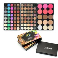 95 colori Ombretto Tavolozza Ombretto a colori con blush a tre strati Ombretto a disco Professionale vassoio per make-up GGA1803