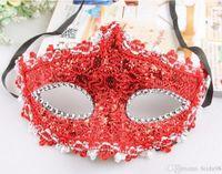 máscara del cordón de la princesa, máscara de media cara, mascarada, fiesta de baile, precioso velo, máscara atractiva de la manera 20pcs / lot L244