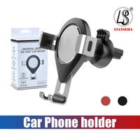 Алюминиевый гравитационный автомобильный воздухоотводчик для мобильного телефона Держатель для iPhone 8/8 Plus / X