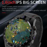 New Smart Watch 4G Netcom 3 + 32GB Android 7.1 HD Двойная камера 1.6 дюйма IPS Большое экран Монитор сердечных сокращений поддержки GPS 5MP SmartWatch