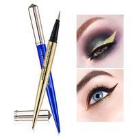 Wholesale UCANBE Waterproof Shiny Liquid Eyeliner Eyeshadow Long Lasting Glitter Eye Liner Pencil Beauty Cosmetic